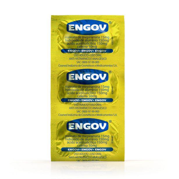 Oferta de Engov Envelope Com 6 Comprimidos por R$5,13