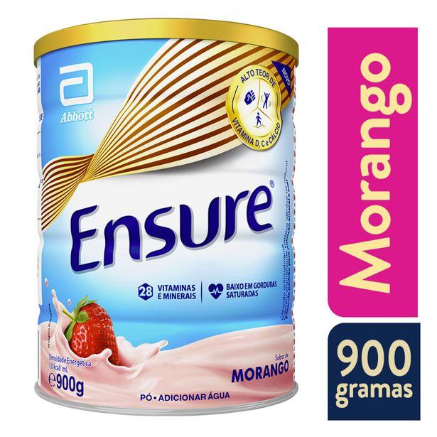 Oferta de Suplemento Adulto Ensure Pó Sabor Morango 900g por R$114,99