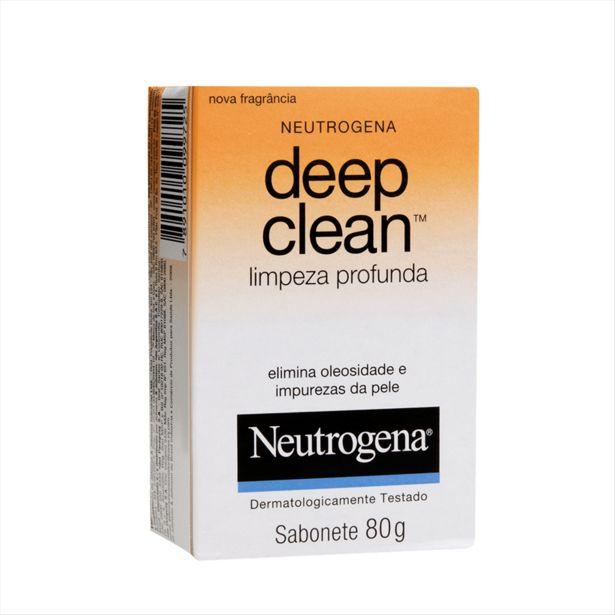 Oferta de Sabonete Facial Neutrogena Deep Clean 80g por R$8,49