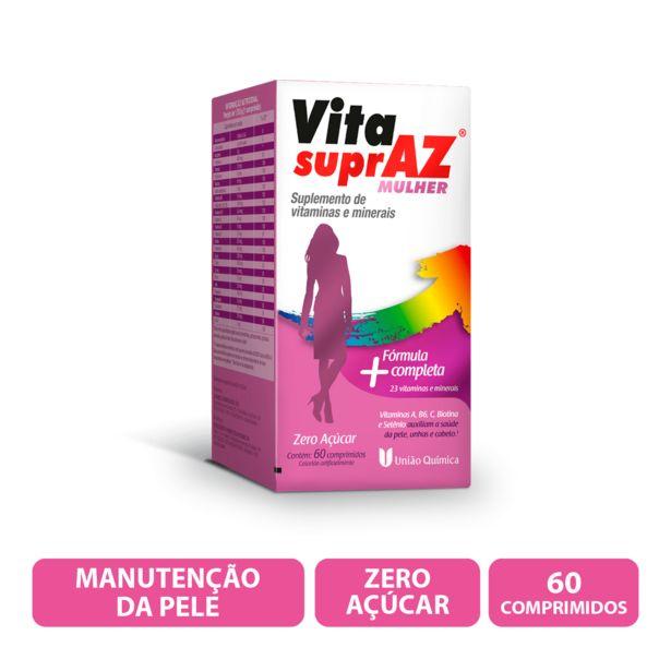 Oferta de Vita Supraz Mulher Com 60 Comprimidos por R$35,9
