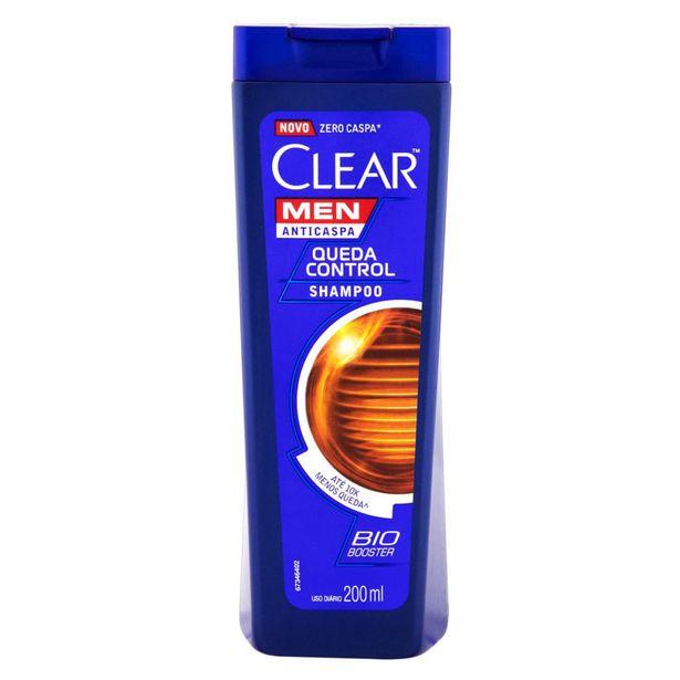Oferta de Shampoo Clear Queda Control Men 200ml por R$14,99