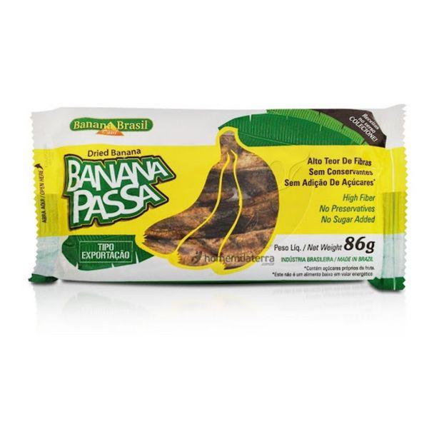 Oferta de Banana Passa Brasil 86g por R$5,5