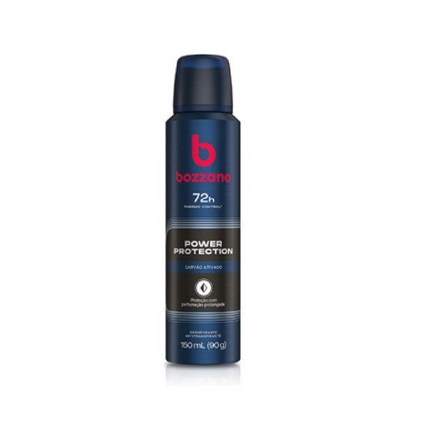 Oferta de Desodorante Bozzano Power Protection Carvão Ativado Aerosol 90g por R$7,35