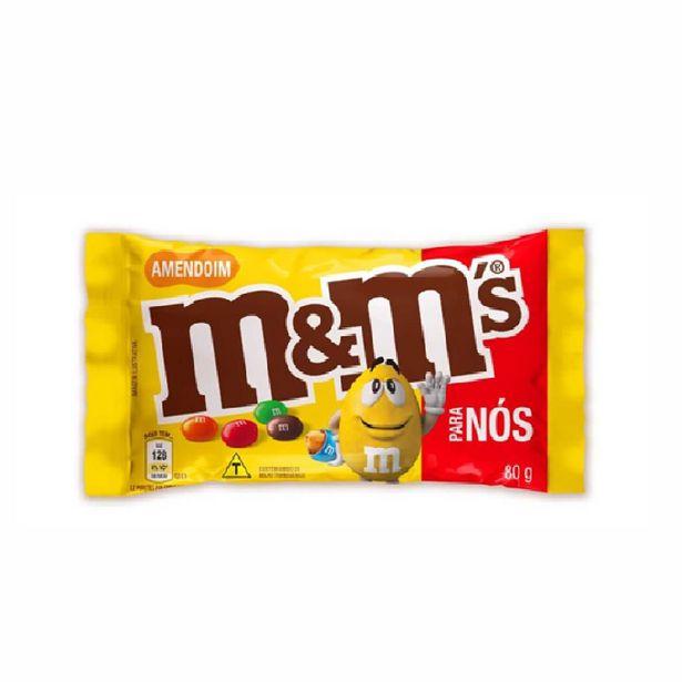 Oferta de Chocolate Mms Amendoim 80g por R$5,59