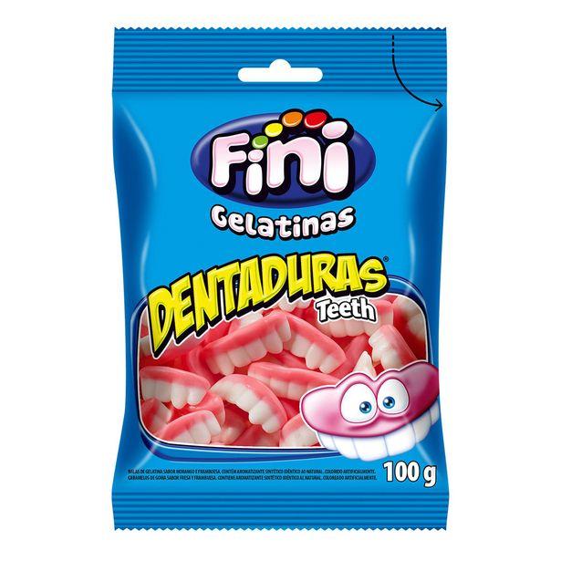 Oferta de Balas Fini Gelatinas Dentaduras 90g por R$6,49