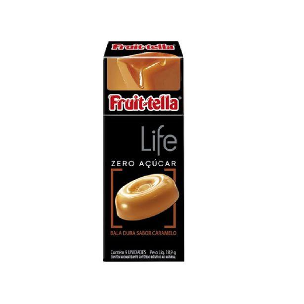 Oferta de Bala Fruttella Life Sabor Caramelo Zeroaçucar 19g por R$3,99