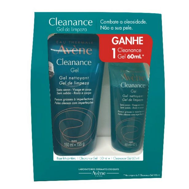 Oferta de Avene Cleanance Gel 150ml Grátis Cleanance Gel 60ml por R$55,99