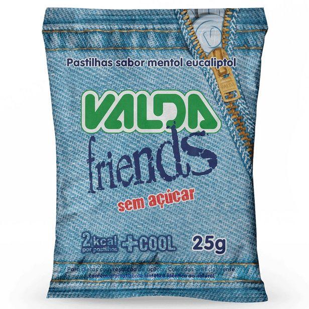 Oferta de Pastilha Valda Friends, Sem Açúcar - 25g por R$3,79