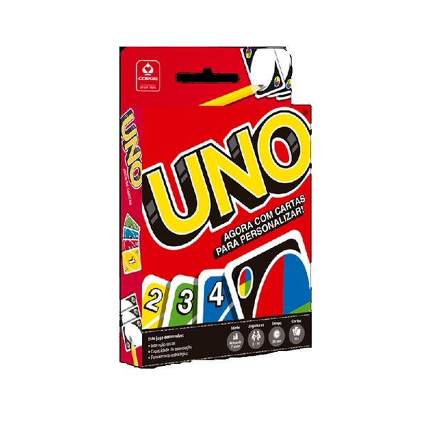 Oferta de Jogo De Cartas Copag Uno por R$14,99