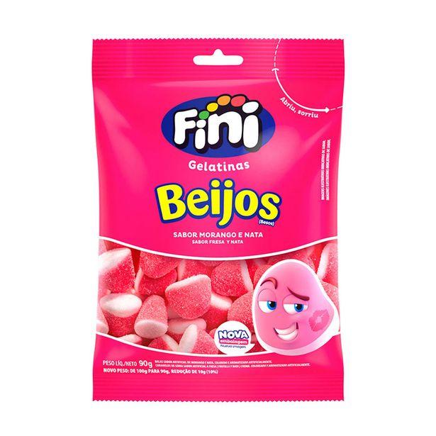 Oferta de Bala Fini Beijos Morango 100g por R$6,49