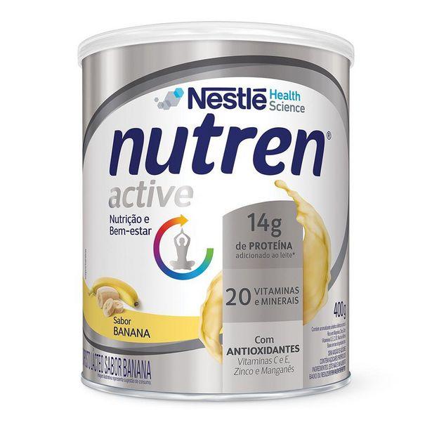 Oferta de Suplemento Alimentar NUTREN ACTIVE Banana 400g por R$48,99