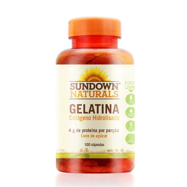 Oferta de Colageno Sundown Gelatina 650mg Cpd/100 por R$69,99