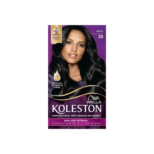 Oferta de Tintura Koleston Preto 20 por R$18,39