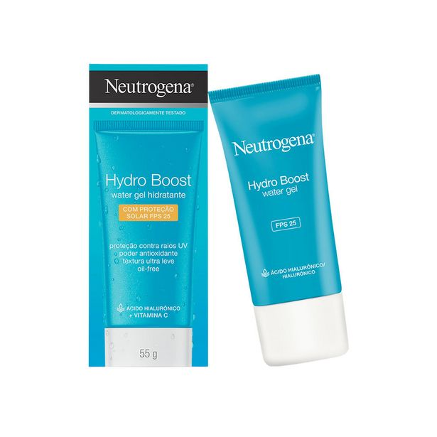 Oferta de Hidratante Facial Neutrogena Hydro Boost Water Fps 25 55g por R$51,99