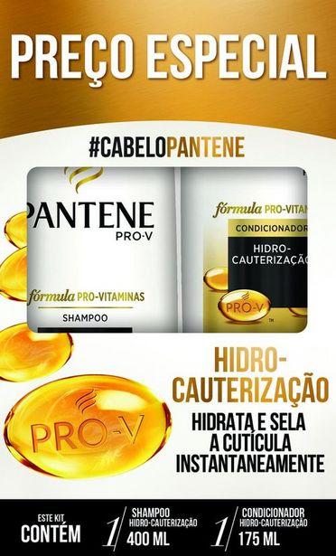 Oferta de Shampoo 400ml + Condicionador 175ml Pantene Hidro-Cauterização por R$21,59