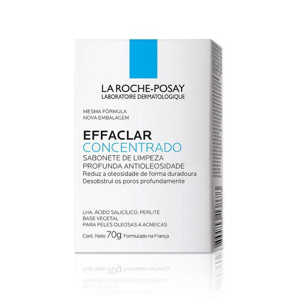 Oferta de Sabonete Facial Effaclar Concentrado La Roche-Posay 70g por R$35,49