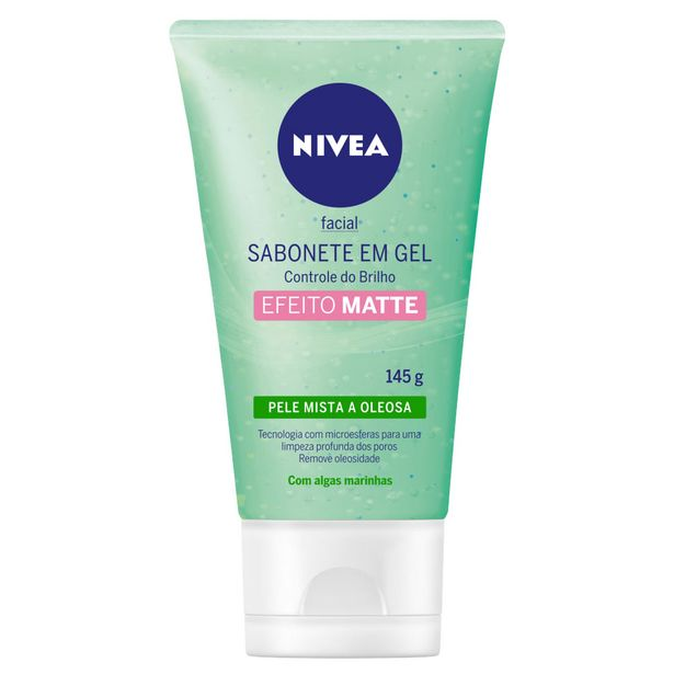 Oferta de Sabonete em Gel Facial NIVEA Controle do Brilho 150ml por R$26,99