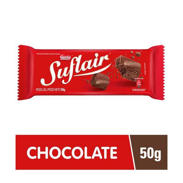 Oferta de Chocolate Suflair Ao Leite 50g por R$4,19