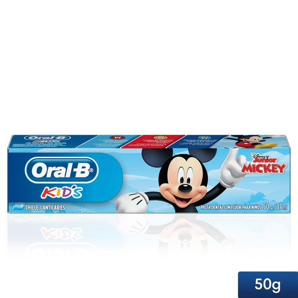 Oferta de Creme Dental Infantil Oral-B Mickey 50g por R$5,19