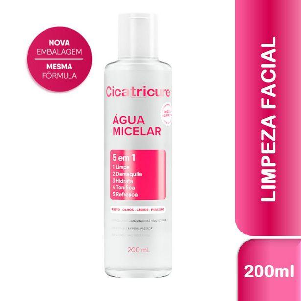 Oferta de Água Micelar Cicatricure 200ml por R$19,99