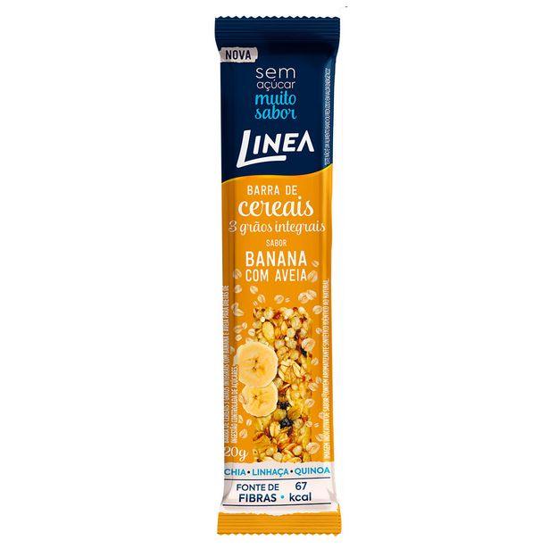 Oferta de Barra Linea Banana Com Aveia 20g por R$2,39
