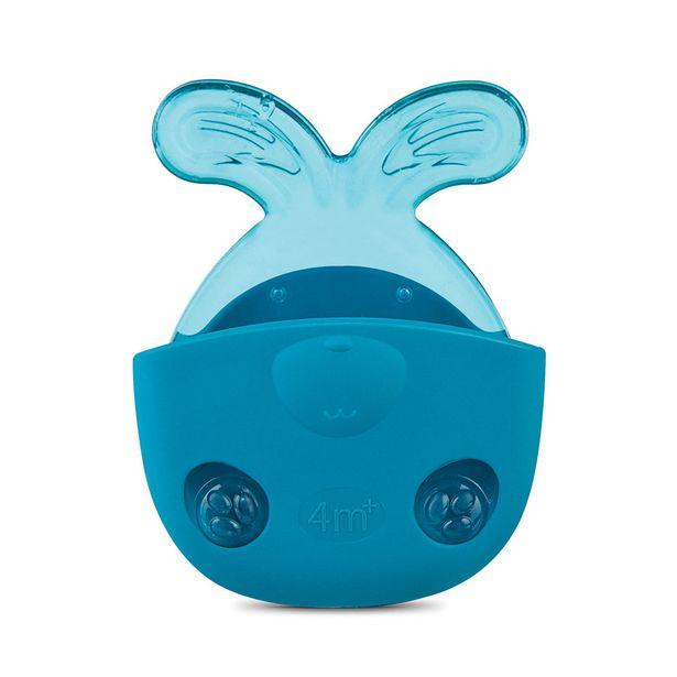 Oferta de Mordedor Nuk Massage & Relax Rabbit Blue por R$23,49