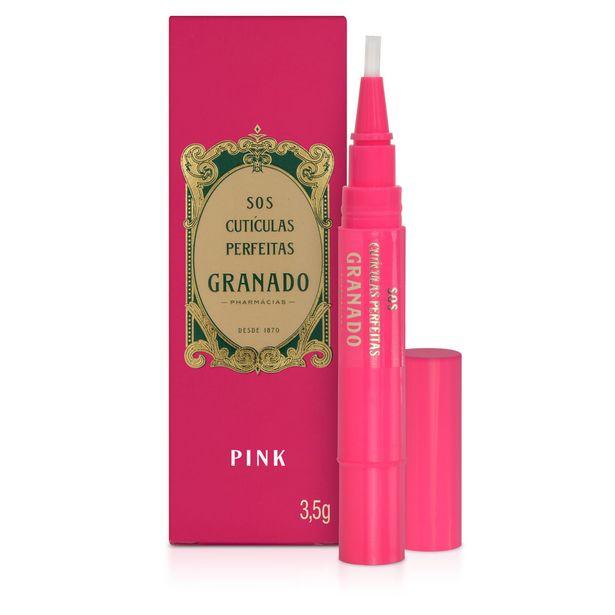 Oferta de Creme Para Cutículas Granado Pink 3,5g por R$14,69