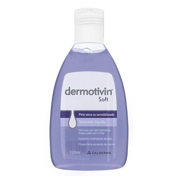 Oferta de Dermotivin Soft Sabonete Líquido 120ml por R$34,9