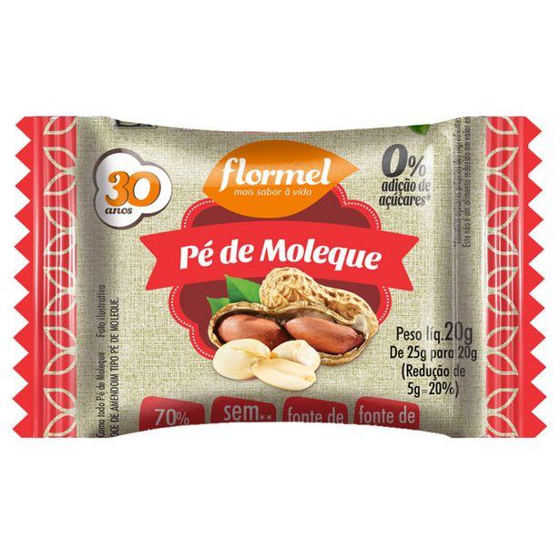 Oferta de Pe De Moleque Zero Açucar Flormel 20g por R$3,99