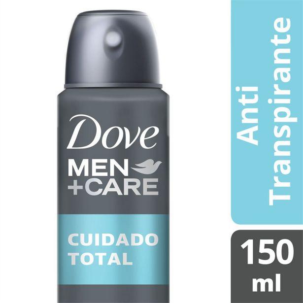 Oferta de Desodorante Antitranspirante Aerosol Dove  Cuidado Total 150ml por R$14,49