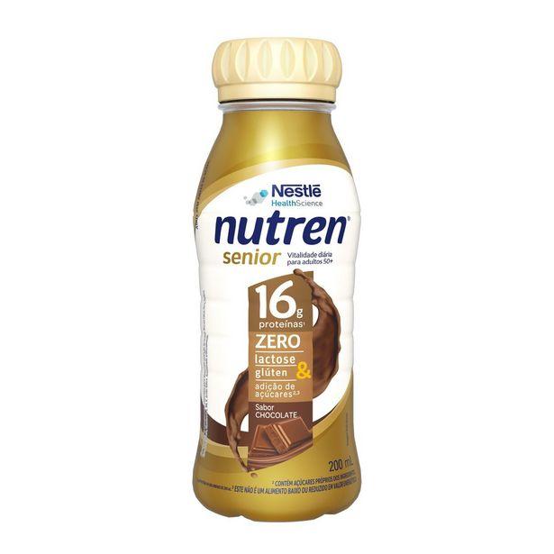 Oferta de Complemento Alimentar Nutren Senior Rtd Chocolate 200ml por R$13,99