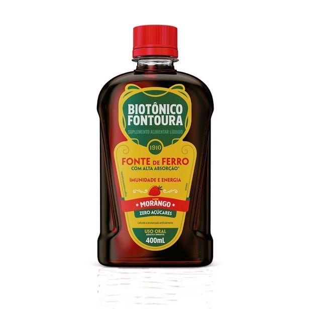 Oferta de Biotônico Fontoura Morango com 400ml por R$25,9