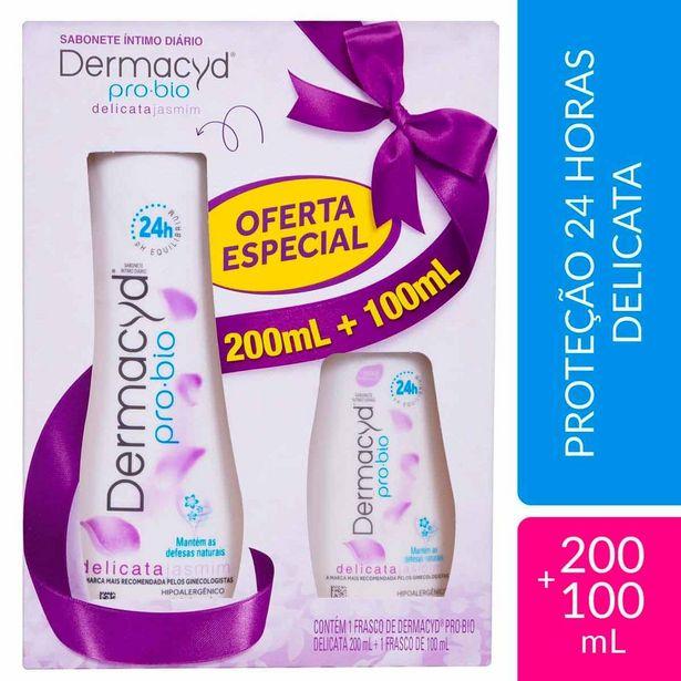 Oferta de Kit Sabonete Líquido Íntimo Dermacyd Delicata por R$21,9