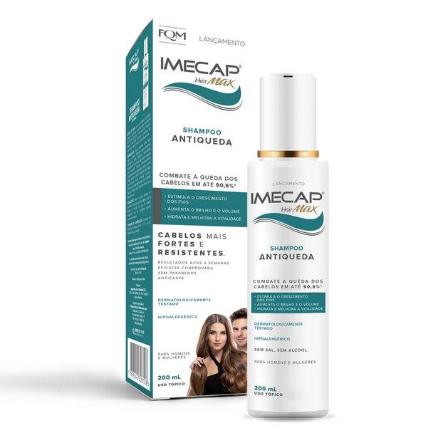 Oferta de Shampoo Antiqueda Imecap Hair Max com 200ml por R$70,64