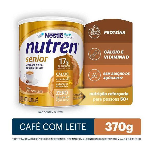 Oferta de Complemento Alimentar Nutren Senior Sabor Café com Leite com 370g por R$55,19