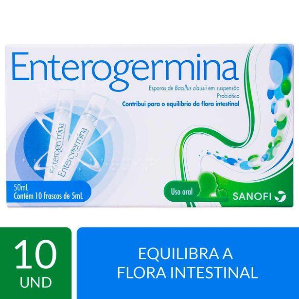 Oferta de Probiótico Enterogermina com 10 frascos de 5ml por R$29,99