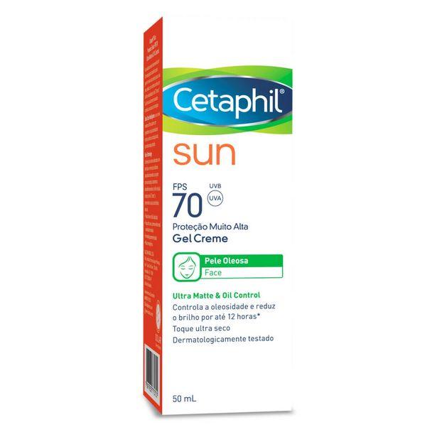 Oferta de Protetor Solar Cetaphil Sun Gel Creme FPS70 por R$54,9