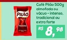 Oferta de Café Pilão por R$8,98