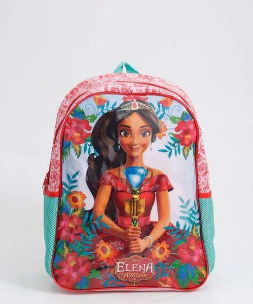 Oferta de Mochila Infantil Escolar Princesa Elena Xeryus por R$39,99