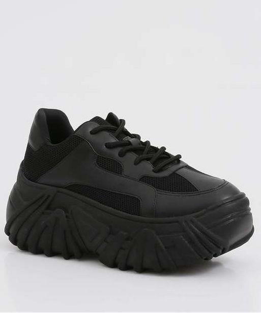 Oferta de Tênis Feminino Chunky Sneaker Zatz  por R$109,99