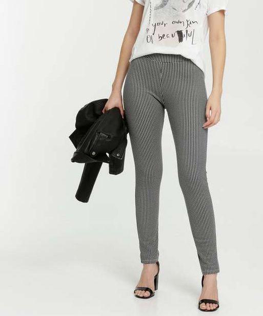 Oferta de Calça Feminina Legging Estampa Pied Poule Marisa por R$29,99