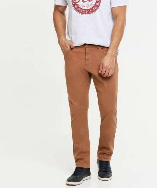 Oferta de Calça Masculina Sarja Slim MR  por R$59,99