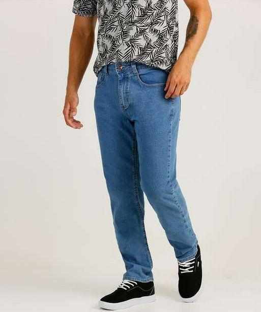 Oferta de Calça Masculina Jeans Reta por R$49,99