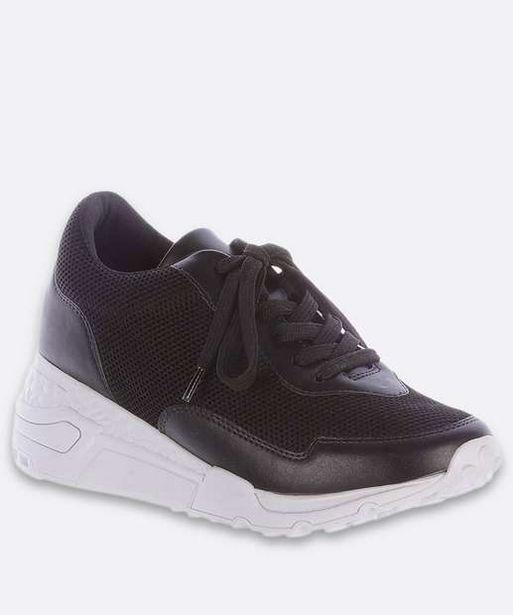 Oferta de Tênis Feminino Chunky Sneaker Recorte Tela Zatz  por R$62,99