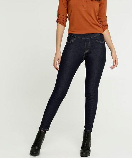 Oferta de Calça Feminina Jegging Bolsos Uber Jeans por R$39,99