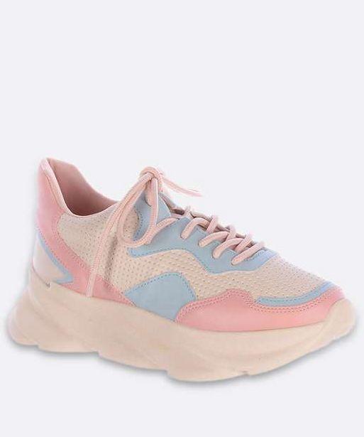 Oferta de Tênis Feminino Chunky Sneaker Plataforma Zatz por R$95,99