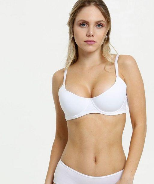 Oferta de Sutiã Feminino Com Base Marisa por R$12,99