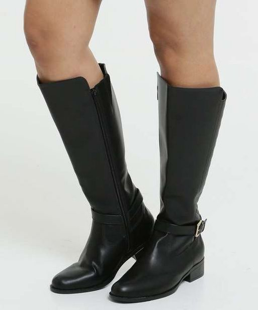 Oferta de Bota Feminina Over The Knee Matelassê Via Uno  por R$59,95