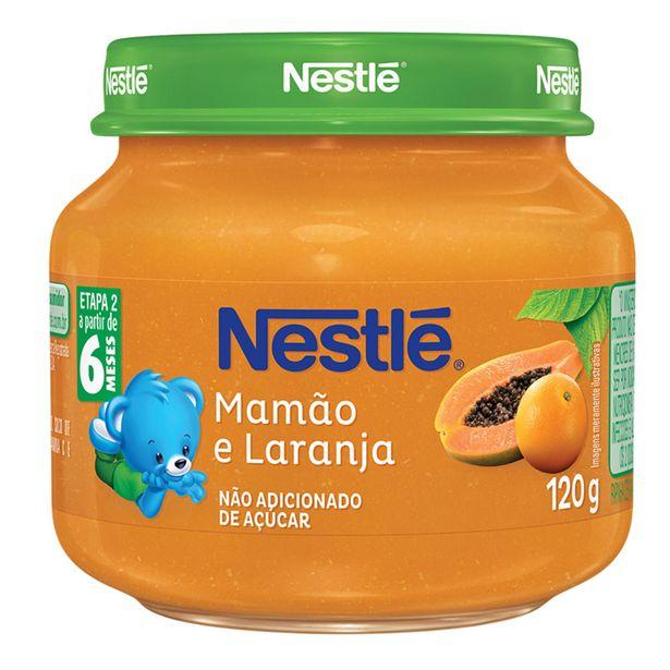 Oferta de Papinha Mamão e Laranja Nestlé 120g por R$3,95