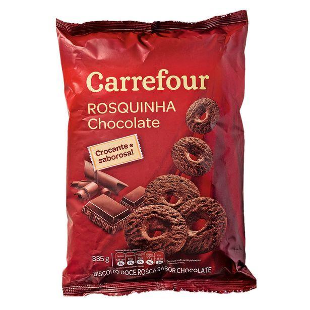 Oferta de Rosquinha Chocolate Carrefour 335g por R$2,27